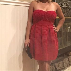 ❤️Gorgeous Red strapless cocktail dress